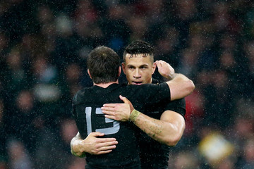 Conrad Smith Sonny Bill Williams South Africa v New Zealand - Semi Final: Rugby World Cup 2015