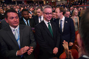 Secretary of State for Environment, Food and Rural Affairs Michael Gove during the Conservative Party Conference on October 3, 2018 in Birmingham, England. Theresa May gave her Leader speech to the 2018 Conservative Party Conference appealing to decent patriots and stating that the Conservative Party is for everyone who is willing to work hard and do their best.  This years conference took place six months before the UK leaves the European Union and divisions on how Brexit happens were apparent throughout.
