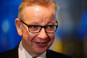 """Secretary of State for Environment, Food and Rural Affairs Michael Gove arrives ahead of British Prime Minister Theresa May's speech on the final day of the Conservative Party Conference at The International Convention Centre on October 3, 2018 in Birmingham, England. British Prime Minister Theresa May will deliver her leader's speech to the 2018 Conservative Party Conference today. Appealing to the """"decent, moderate and patriotic"""", she will state that the Conservative Party is for everyone who is willing to """"work hard and do their best"""". This year's conference took place six months before the UK is due to leave the European Union, with divisions on how Brexit should be implemented apparent throughout."""