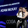 Constance Wu Mindy Kaling Speaks At The 22nd Costume Designers Guild Awards (CDGA)
