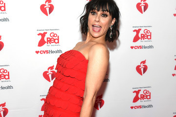 Constance Zimmer The American Heart Association's Go Red For Women Red Dress Collection 2020 - Arrivals & Front Row