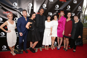 Constance Zimmer Marti Noxon Lifetime and US Weekly's Premiere Event For New Drama 'UnREAL' at the SIXTY Beverly Hills