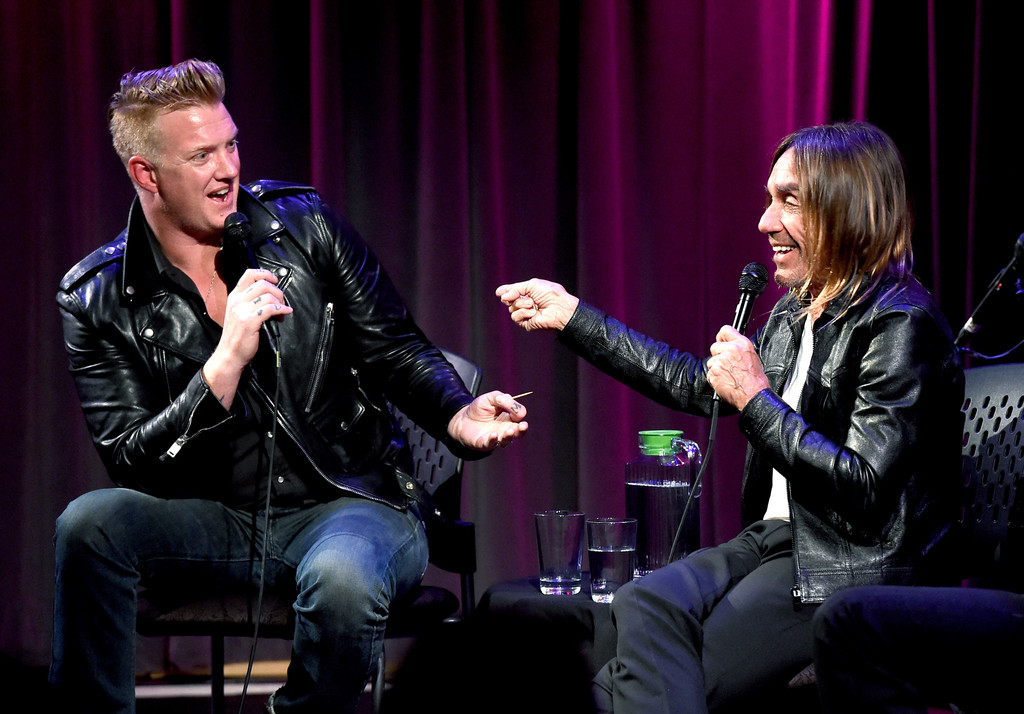 A Conversation With Iggy Pop And Josh Homme At The Grammy Museum Zimbio