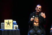 Ringo Starr speaks onstage during the In Conversation Panel for 'Another Day In The Life' with Ringo Starr, David Lynch and Henry Diltz at Saban Theatre on October 29, 2019 in Beverly Hills, California.
