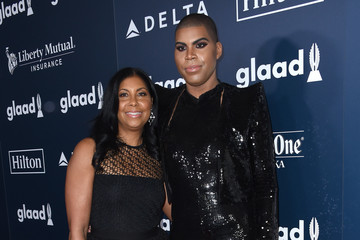 Cookie Johnson 28th Annual GLAAD Media Awards in LA - Red Carpet & Cocktails