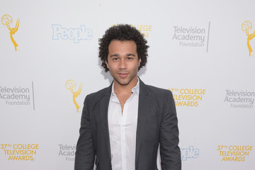Corbin Bleu 37th College Television Awards - Arrivals