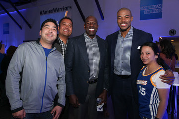 Corey Maggette American Express 'All for Dub Nation' Watch Party