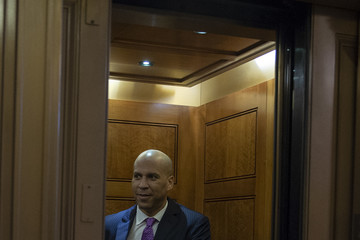Cory Booker U.S. Senate Returns To Session After Tumultuous Week