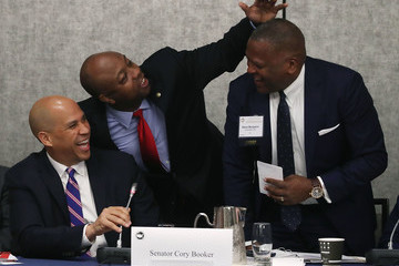 Cory Booker Annual U.S. Conference Of Mayors Held In D.C.