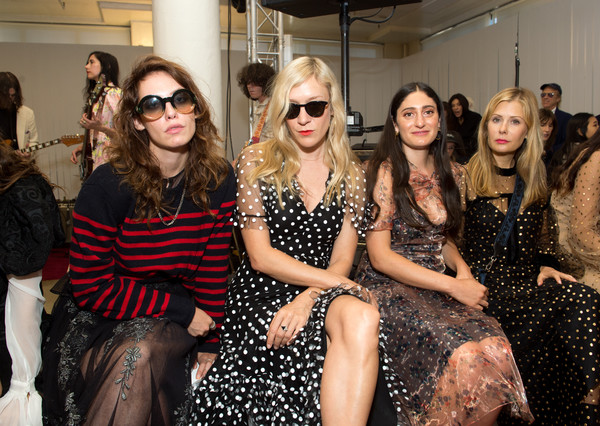 Jill Stuart - Front Row - September 2017 - New York Fashion Week [eyewear,fashion,fashion design,event,fashion model,fashion show,design,haute couture,glasses,vision care,jill stuart,arden wohl,chloe sevigny,cory kennedy,tara subkoff,front row,l-r,new york city,new york fashion week,fashion show]