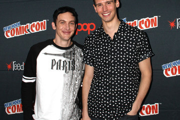 Cory Michael Smith Robin Lord Taylor New York Comic-Con 2015 - Day 4