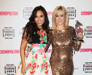 Myleene Klass Cosmopolitan Ultimate Women Of The Year Awards 2011 - Press Room
