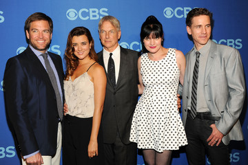 Cote de Pablo Celebs Attend the CBS Upfront Event in NYC