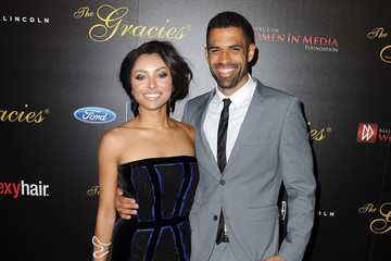 Cottrell Guidry Kat Graham Arrivals at the 39th Annual Gracie Awards — Part 2