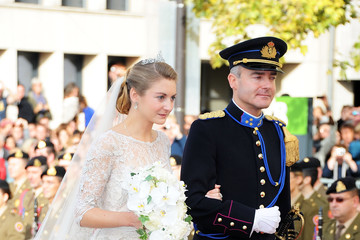 Count Jehan de Lannoy The Wedding Of Prince Guillaume Of Luxembourg & Stephanie de Lannoy - Official Ceremony