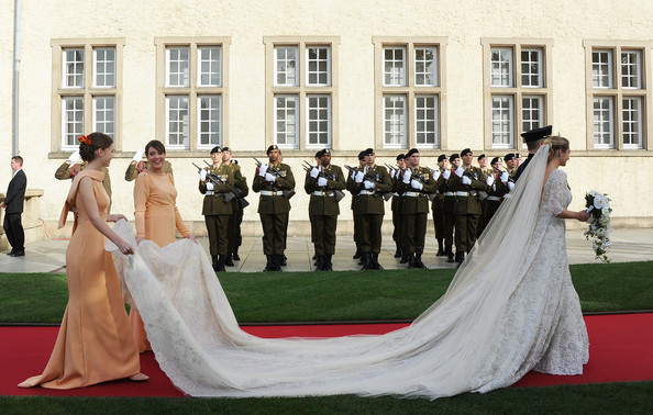 The Wedding Of Prince Guillaume Of Luxembourg & Stephanie de Lannoy - Official Ceremony [stephanie,guillaume of luxembourg stephanie de lannoy - official ceremony,jehan de lannoy,prince,belgian countess,guillaume of luxembourg,photograph,gown,bride,dress,wedding dress,ceremony,wedding,event,bridal clothing,bridesmaid,luxembourg,wedding,wedding ceremony,ceremony]