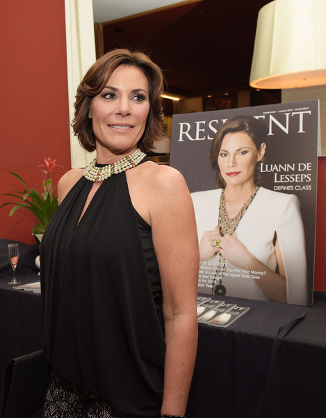 Countess Luann De Lesseps Quot Resident Magazine Quot Cover Party