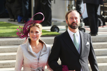 Countess Luisa de Lannoy Count Christian de Lannoy The Wedding Of Prince Guillaume Of Luxembourg & Stephanie de Lannoy - Official Ceremony