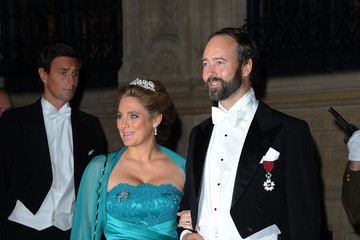 Countess Luisa de Lannoy Count Christian de Lannoy The Wedding Of Prince Guillaume Of Luxembourg & Stephanie de Lannoy - Gala Dinner
