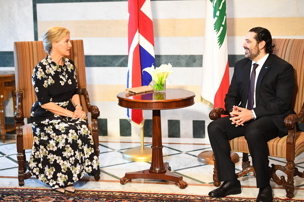The Countess Of Wessex Visits Lebanon