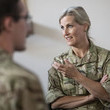 Countess of Wessex The Countess Of Wessex Visits RAF Wittering