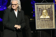 Ricky Skaggs is presented with his Hall of Fame plaque during the 2018 Country Music Hall of Fame and Museum Medallion Ceremony honoring inductees Johnny Gimble, Ricky Skaggs and Dottie West at Country Music Hall of Fame and Museum on October 21, 2018 in Nashville, Tennessee.