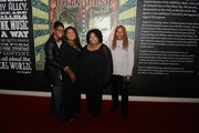 """(L-R) Alfreda, Regina, Deborah and Ann McCrary of the McCrary Sisters attend the debut of the """"Dylan, Cash and The Nashville Cats"""" exhibition at Country Music Hall of Fame and Museum on March 26, 2015 in Nashville, Tennessee."""