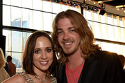 """Katherine Cook Covington and Singer/Songwriter Bucky Covington attend """"Working On A Building' Capital Campaign Dinner at the Country Music Hall of Fame and Museum on May 6, 2015 in Nashville, Tennessee."""