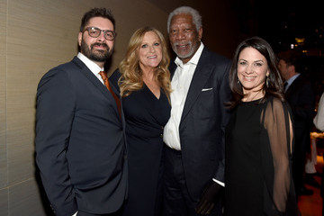 Courteney Monroe Tim Pastore National Geographic 'The Story of God' With Morgan Freeman World Premiere