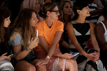 Courtney Crangi Mara Hoffman - Front Row - Spring 2016 New York Fashion Week: The Shows