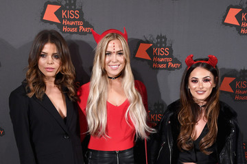 Courtney Green Kiss FM Haunted House Party - Arrivals