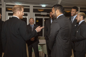 Courtney Lawes The Duke Of Sussex Attends 'Try For Change' Reception