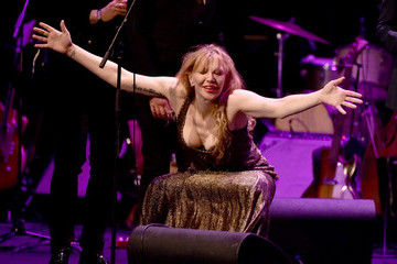 Courtney Love The David Lynch Foundation's DLF Live Celebration Of The 60th Anniversary Of Allen Ginsberg's 'Howl'