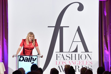 Courtney Love The Daily Front Row Fashion LA Awards 2019 - Inside