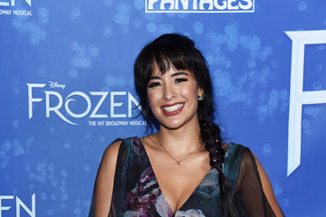 """Courtney Reed LA Premiere Of """"Frozen"""" At Hollywood Pantages Theatre"""