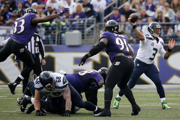 Courtney Upshaw   Seattle Seahawks v Baltimore Ravens
