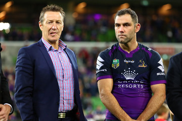Craig Bellamy NRL Rd 26 - Storm v Raiders