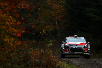 Craig Breen FIA World Rally Championship Great Britain - Shakedown