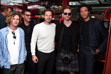Craig McGinlay Charlie Casely-Hayford At Men's Fashion Week