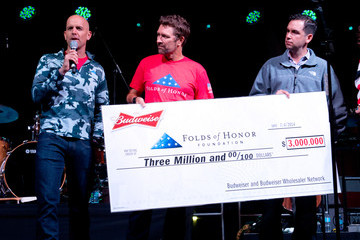 Craig Morgan Budweiser Celebrates July 4th With Jersey City's Freedom & Fireworks Festival