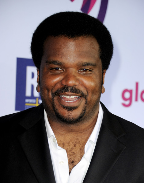 Craig Robinson Actor Craig Robinson arrives at the 22nd Annual GLAAD Media Awards at the Westin Bonaventure Hotel on April 10, 2011 in Los Angeles, California.