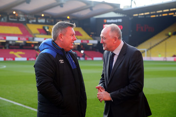 Craig Shakespeare Watford vs. Everton - Premier League