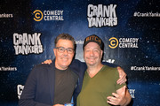 "Adam Carolla and Jeff Ross attend the ""Crank Yankers"" 2019 Premiere Party at Two Bit Circus on September 24, 2019 in Los Angeles, California."