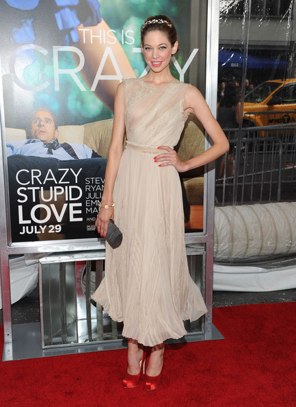 "Actress Analeigh Tipton attends the ""Crazy, Stupid, Love."" World Premiere at the Ziegfeld Theater on July 19, 2011 in New York City."