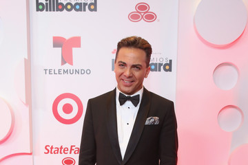 Cristian Castro Backstage at the Billboard Latin Music Awards