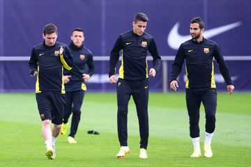 Cristian Tello FC Barcelona Training Session