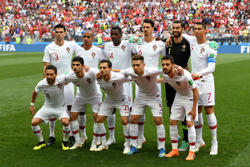 Cristiano Ronaldo Goncalo Guedes Portugal Vs. Morocco: Group B - 2018 FIFA World Cup Russia