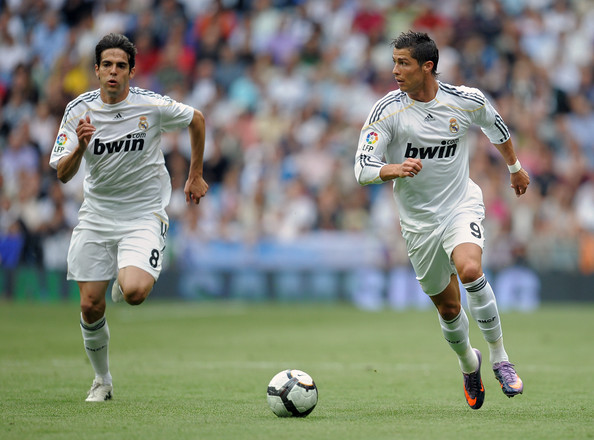 Cristiano Ronaldo and Kaka - Real Madrid v CA Osasuna - La Liga
