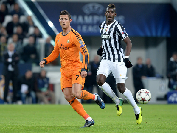 Image result for Paul Pogba with ronaldo