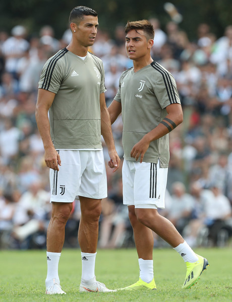 Image result for paulo dybala and Cristiano Ronaldo